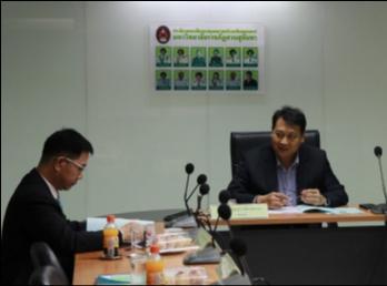 คณะมนุษยศาสตร์ประชุมคณะกรรมการประจำคณะ ครั้งที่7/2560