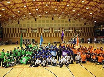 คณะมนุษยศาสตร์ฯร่วมแข่งขันกีฬาสีสานสานสัมพันธ์บุคลากรสวนสุนันทา