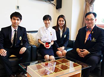 นักศึกษาคณะมนุษยศาสตร์ฯสร้างชื่อ ได้รับรางวัลอาสายุวกาชาดดีเด่น ประจำปี 2561