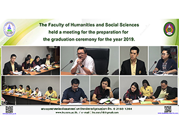 The Faculty of Humanities and Social Sciences held a meeting for the preparation for the graduation ceremony for the year 2019.