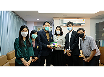 Japanese program blessing to Dean of Faculty of Humanities and Social Sciences for New Year 2021