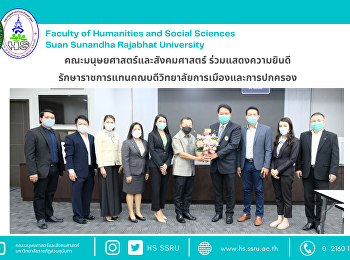 Faculty of Humanities and Social Sciences congratulated to the Acting Dean of the College of Politics and Administration
